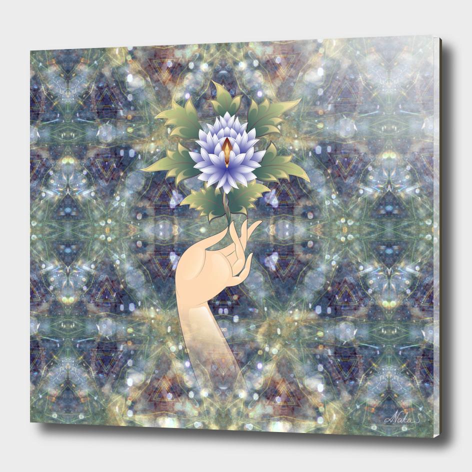flower sermon of Buddha