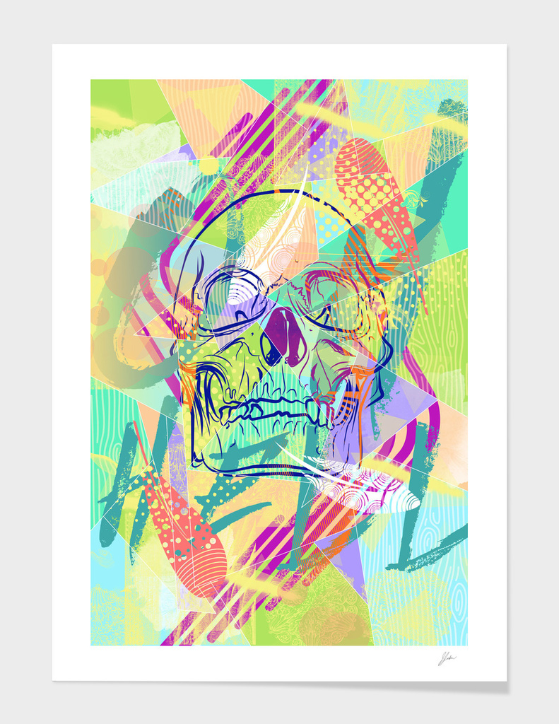 Oh Hell Sherbert Skull