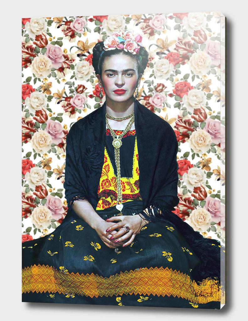 Frida kahlo Floral
