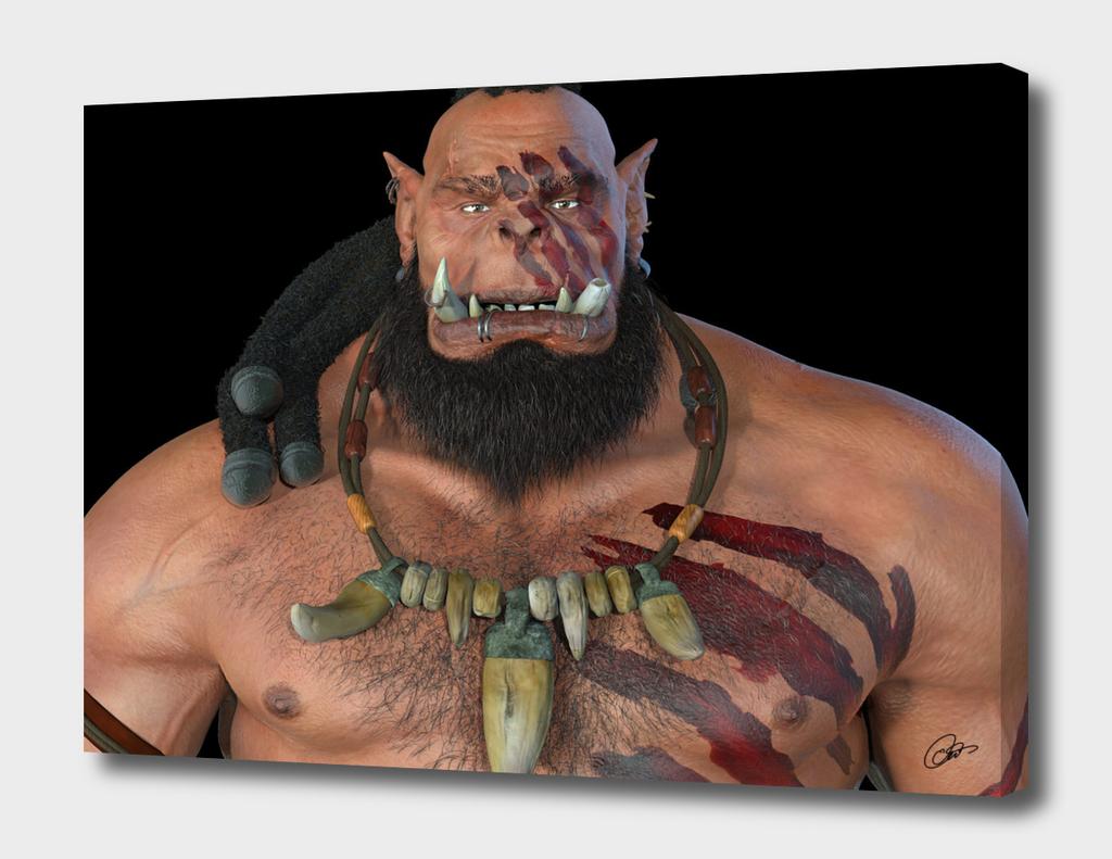 Orc Gramosh Hellblade