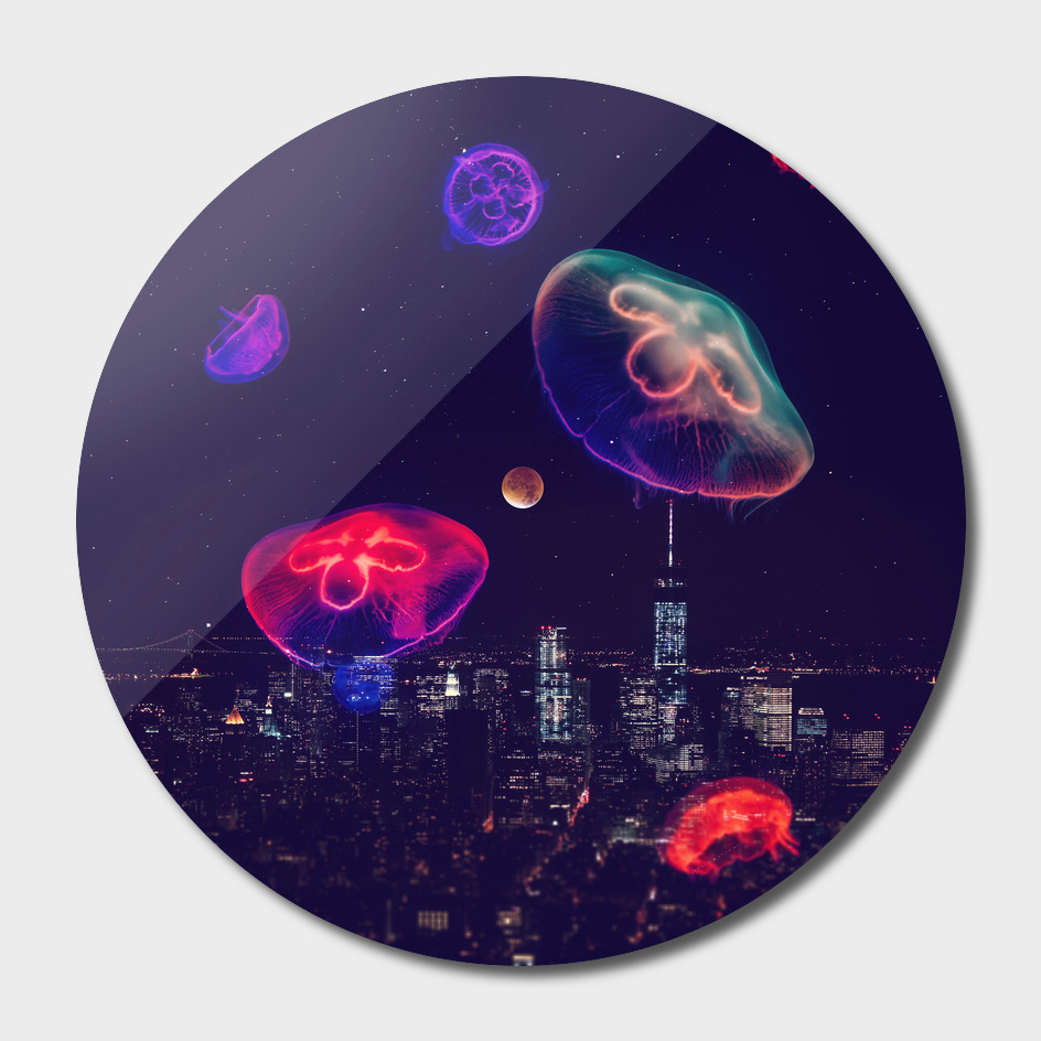 neon night II