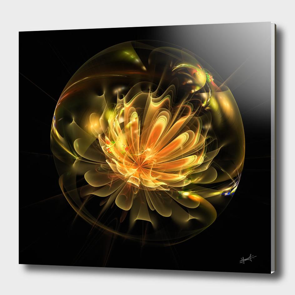 Boule florale 3