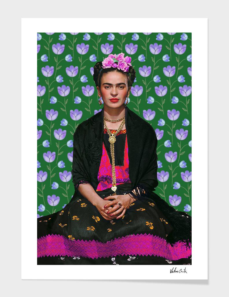 Frida kahlo Floral I