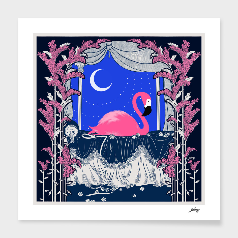 The Pink Flamingo No.2