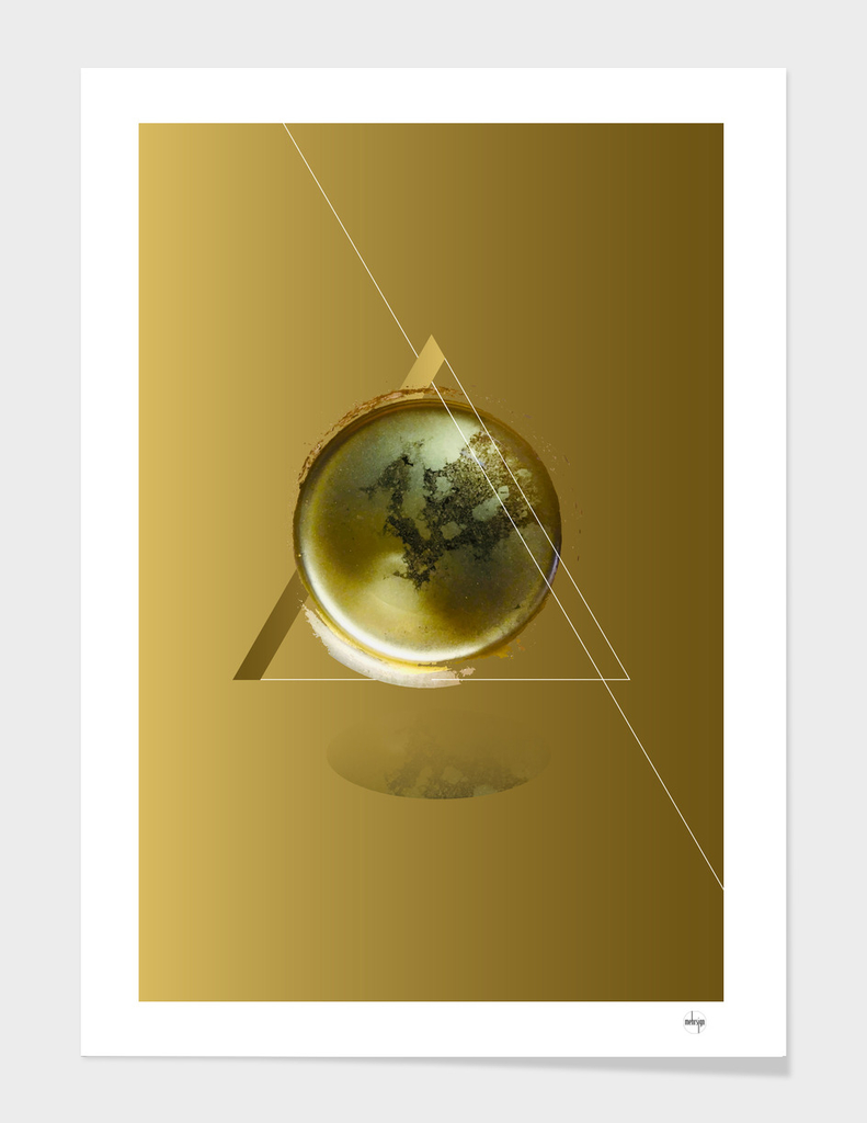 Triangular Entangled Moon Gold