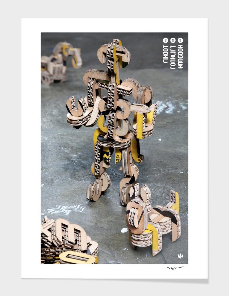 Gonggoo font_Yellow Ver_Poster_2