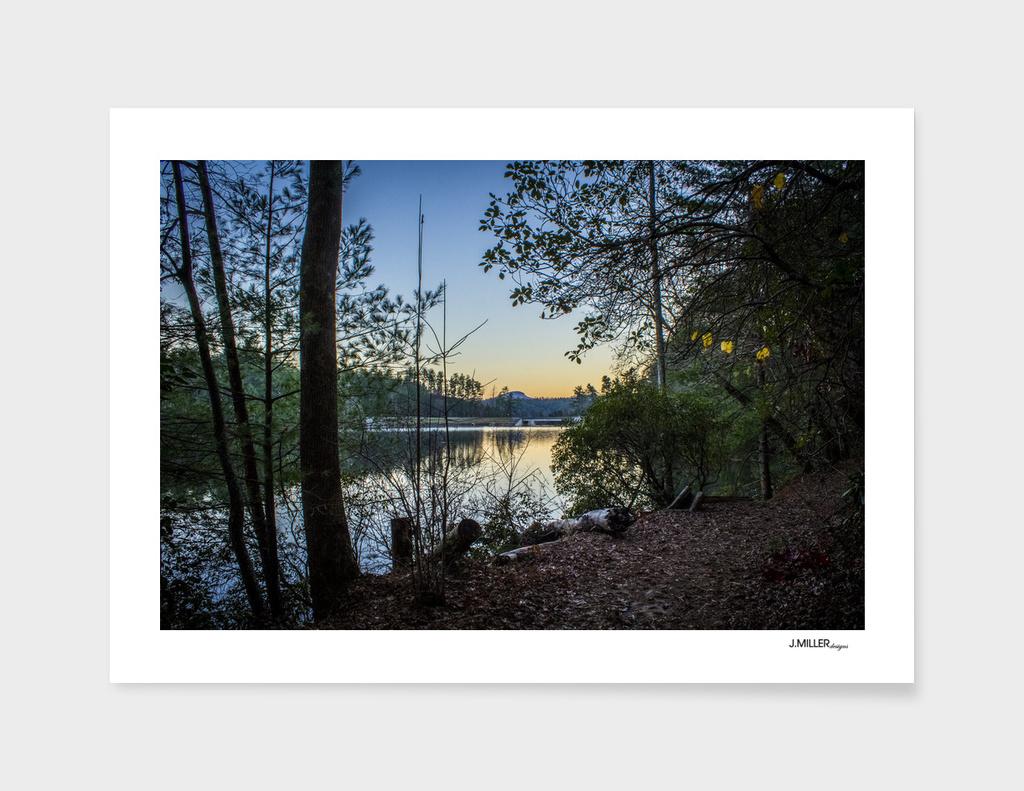 Smith Creek Lake at Sunset