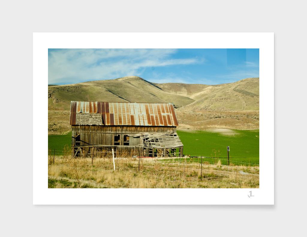 Old Barn in Utah