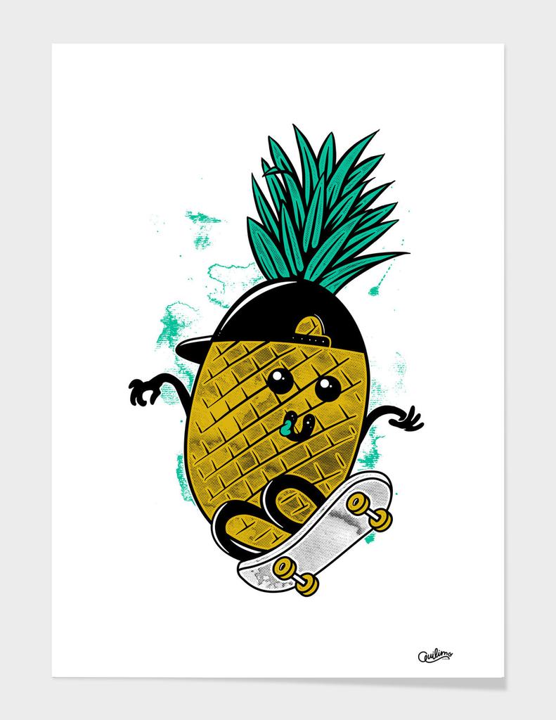 Pineapple Skateboarding