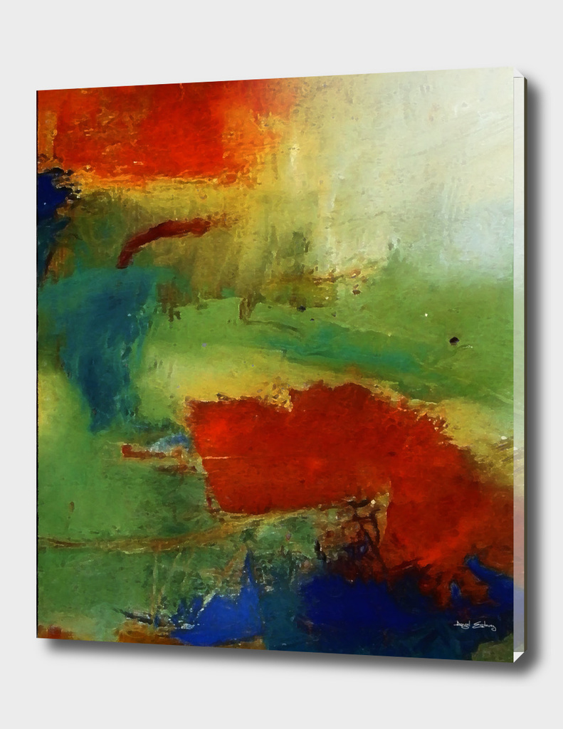 Abstract composition 126