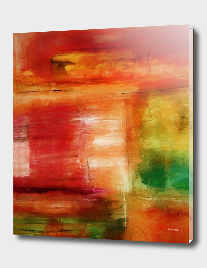Abstract composition 127