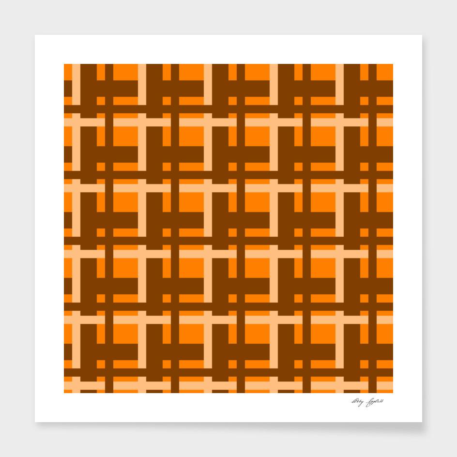 Plaid -- Orange