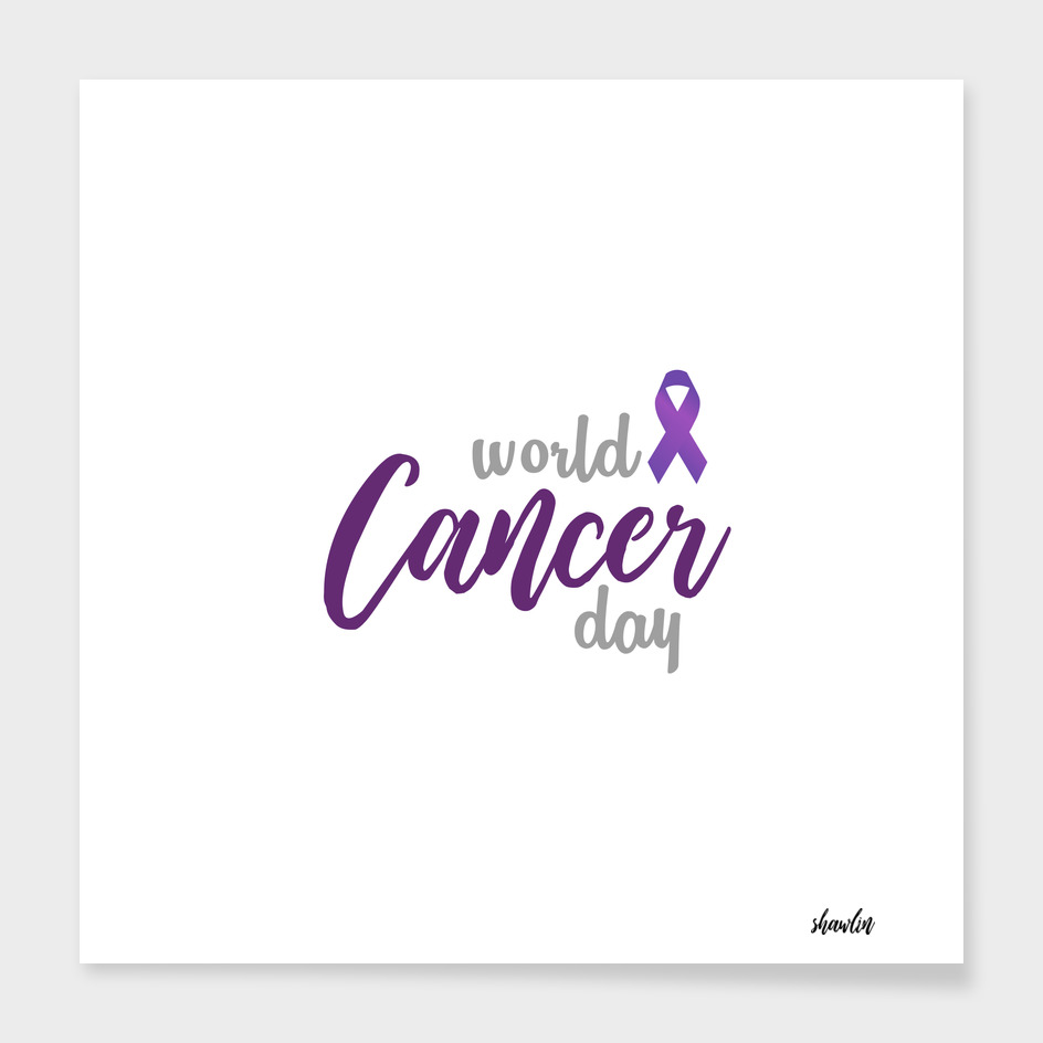 World Cancer day celebrated on 4th February