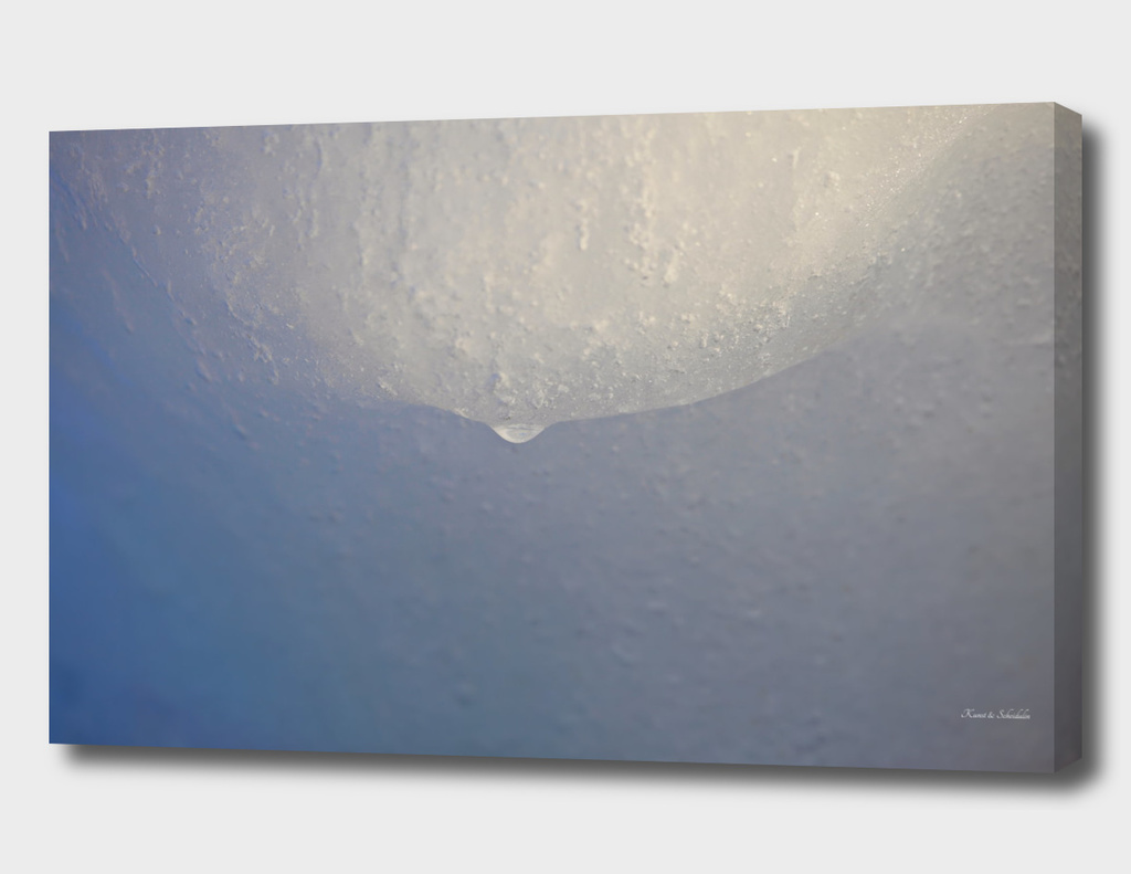 Melting ice floe