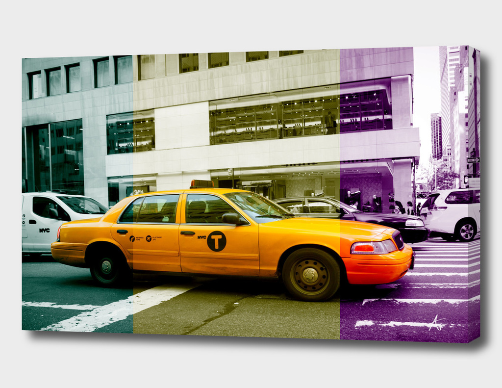 Yellow Cab in New York City