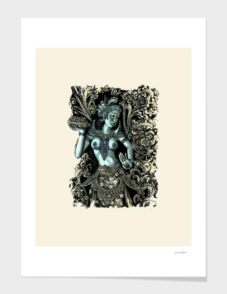 Blue Moon Bali Dancer