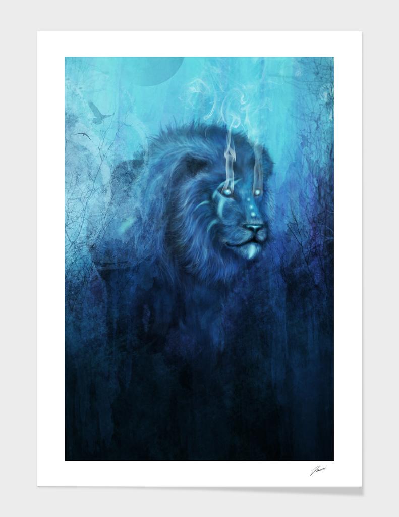 Blue Spirit Lion