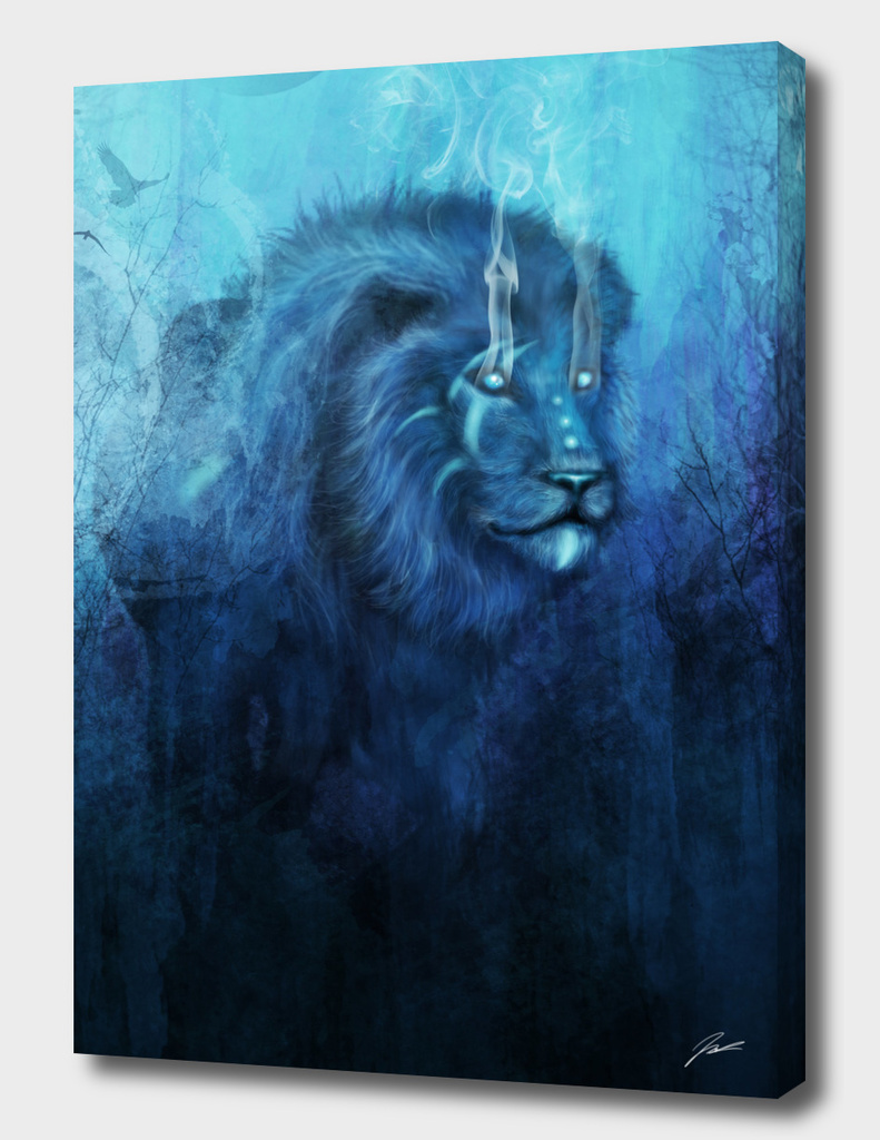 Blue Spirit Lion
