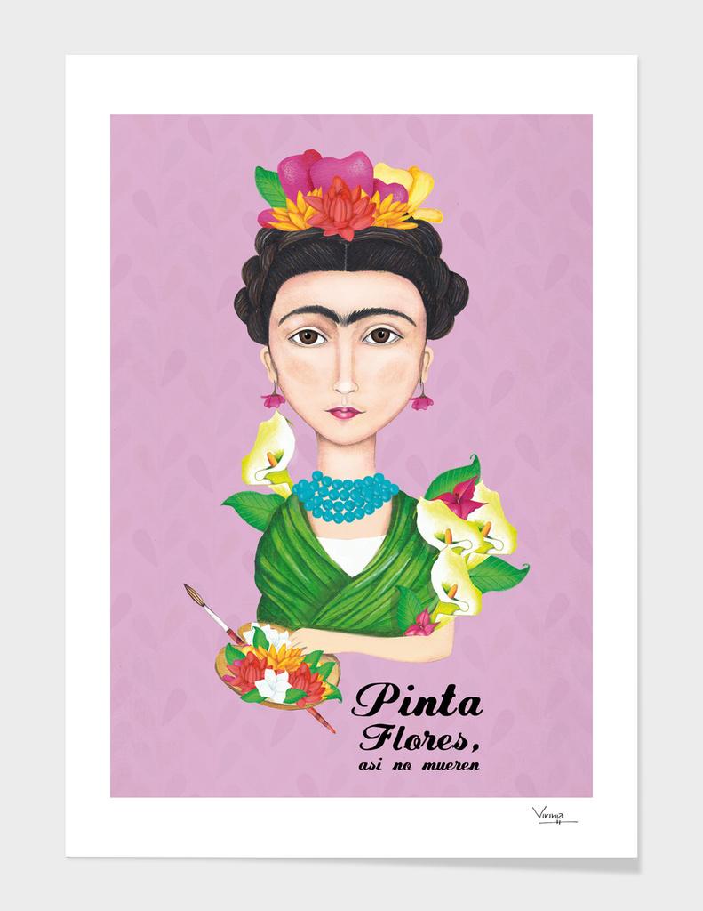 frida kahlo - Flowers