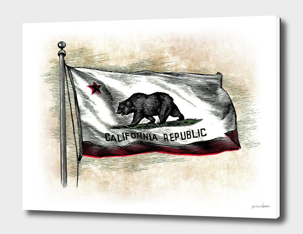 Grungy-CA-flag