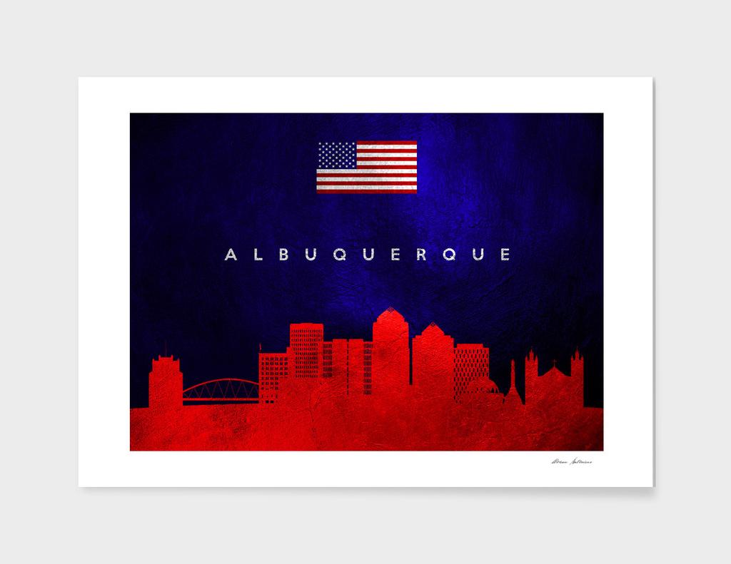 Albuquerque New Mexico Skyline