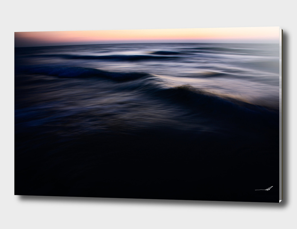 Twilight over the Mediterranean