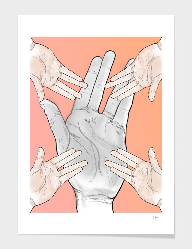 Handful of hands