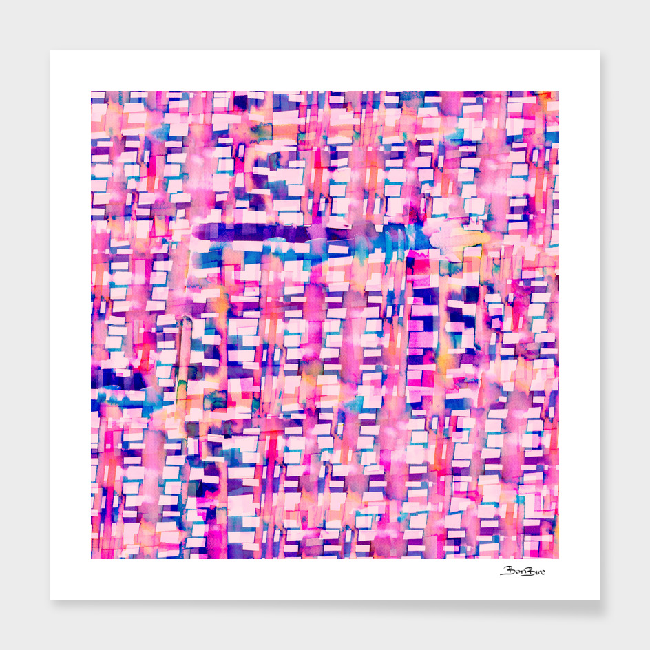 Pink striped fantasy