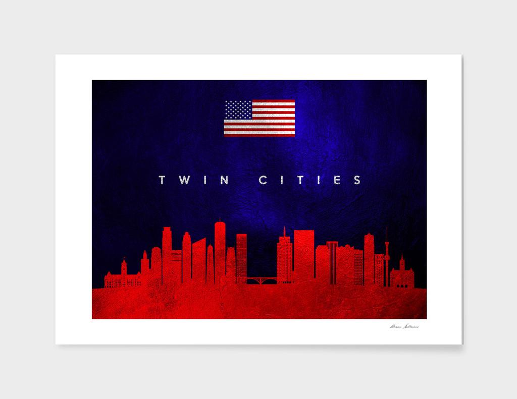 Twin Cities Minnesota Skyline