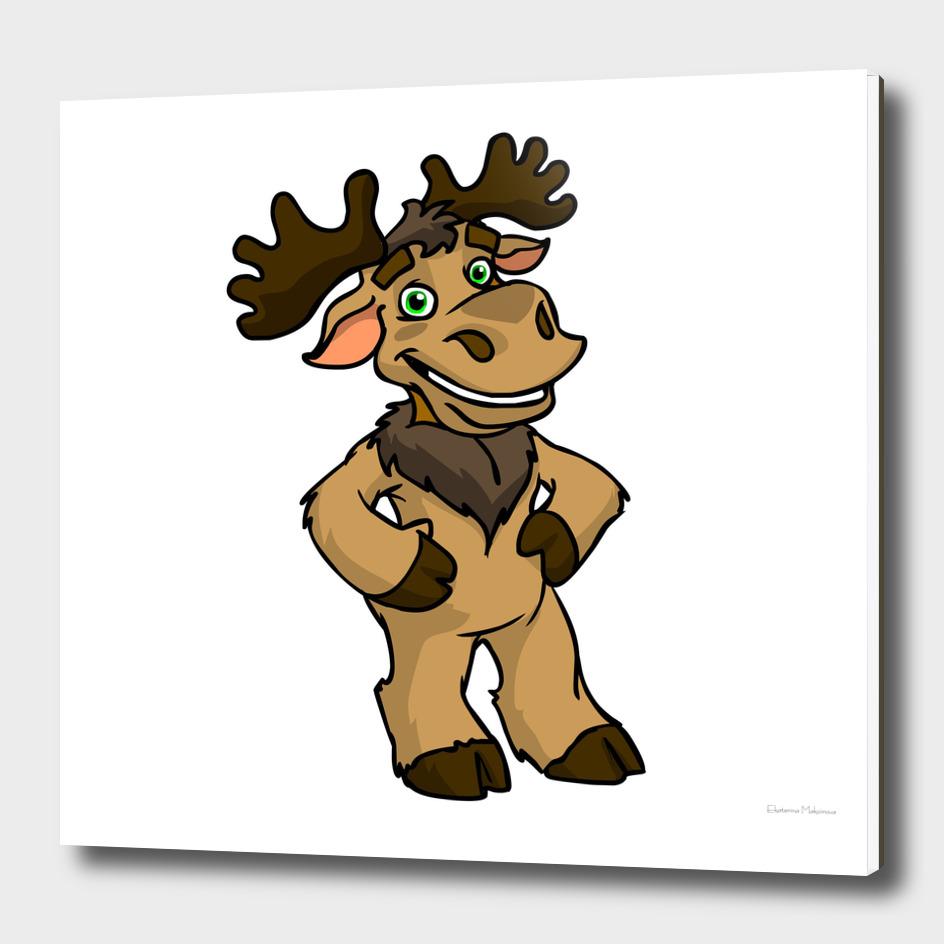 elk dark colour