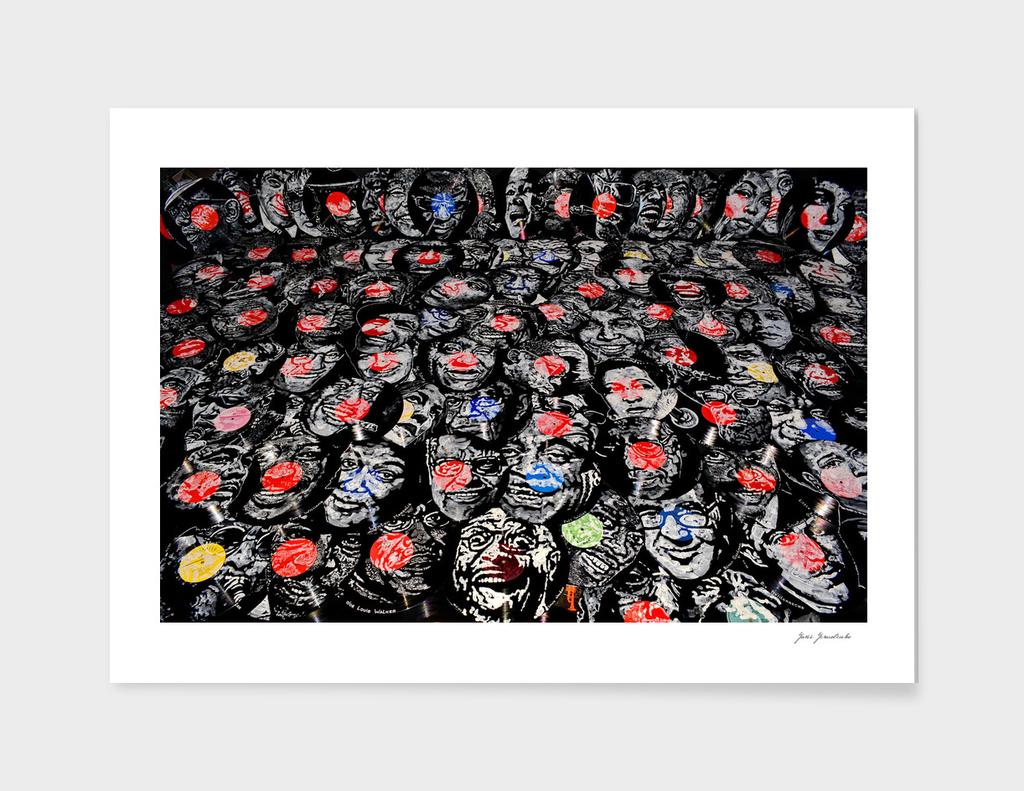 Facevinyl - LOCATION. Painting by Yury Ermolenko, 201