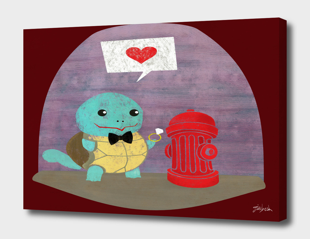 Squirtle in Love