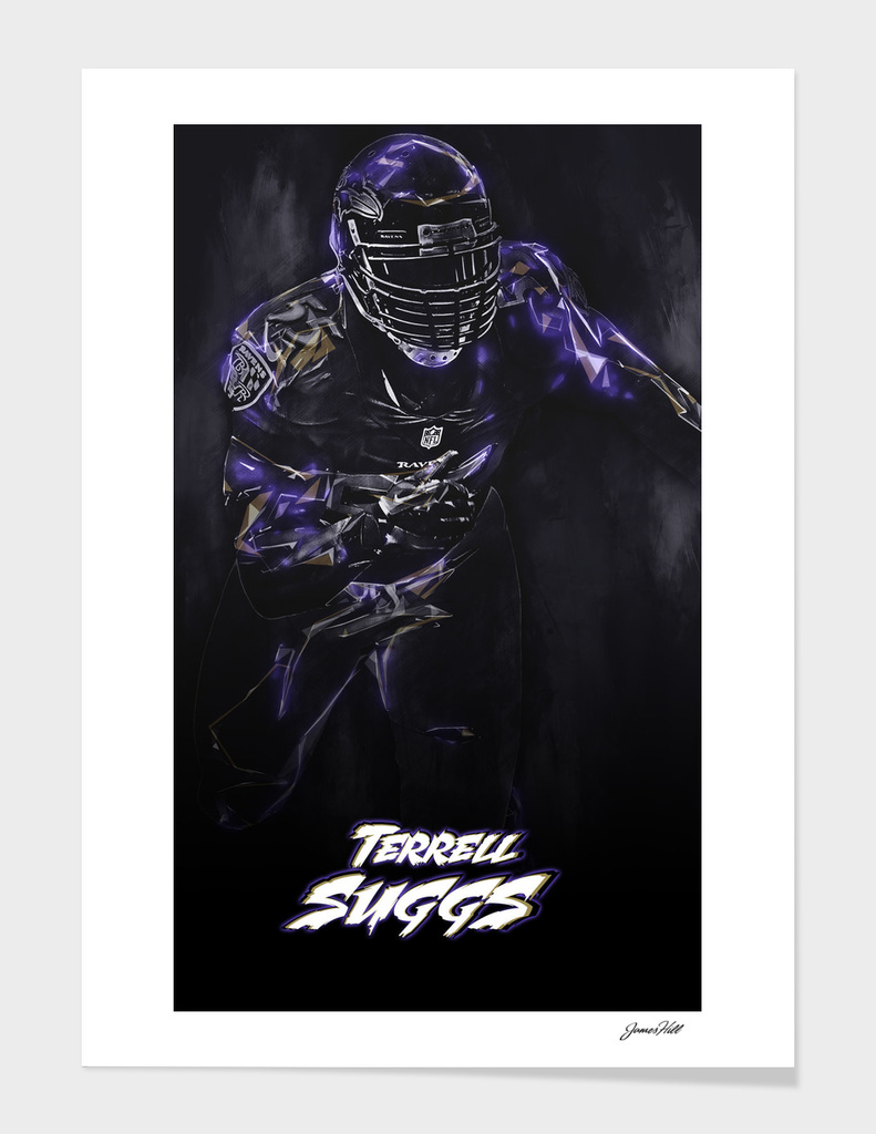 Terrell Suggs Abstract