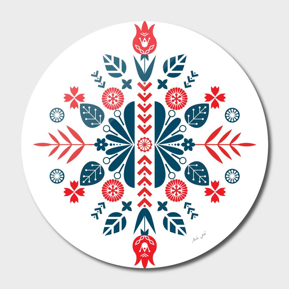 Scandinavian Folk Patterns