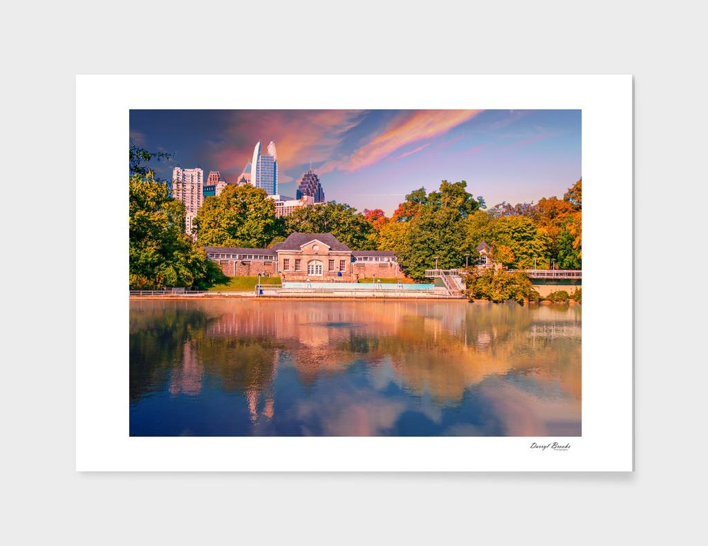 Atlanta Skyline Lake
