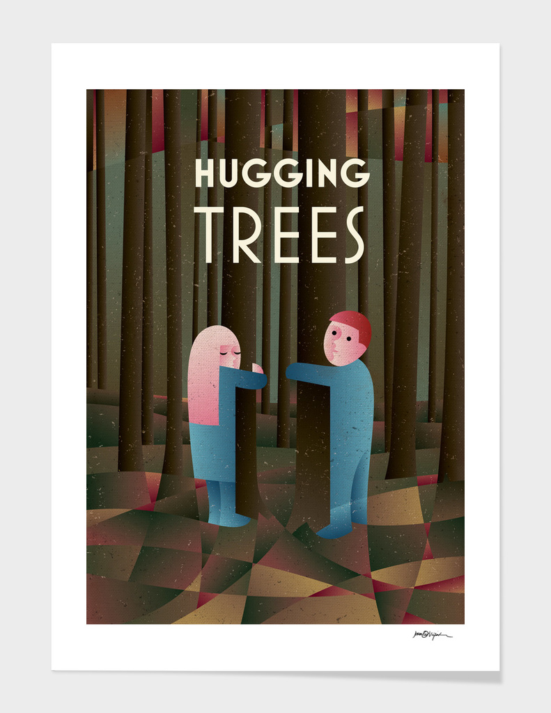HUGGING TREES
