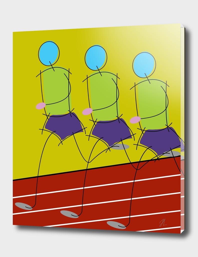 athletes art