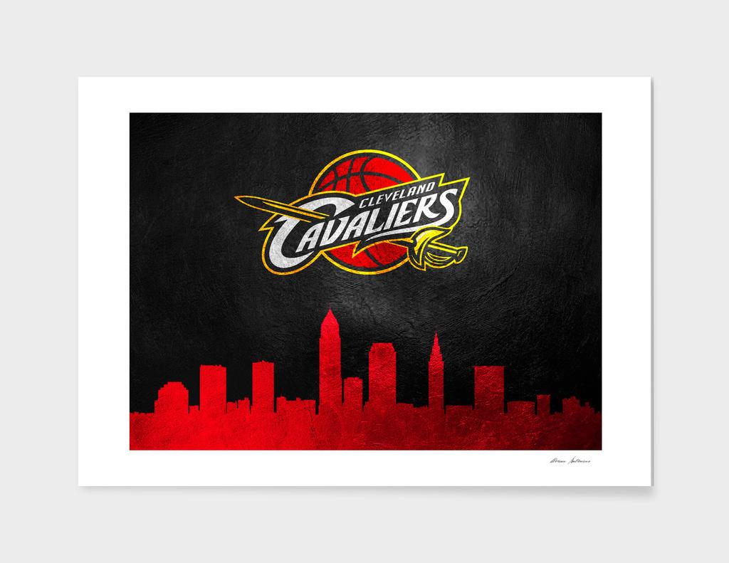 Cleveland Cavaliers Skyline