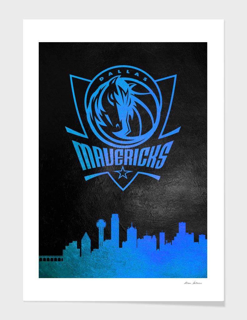 Dallas Mavericks Skyline