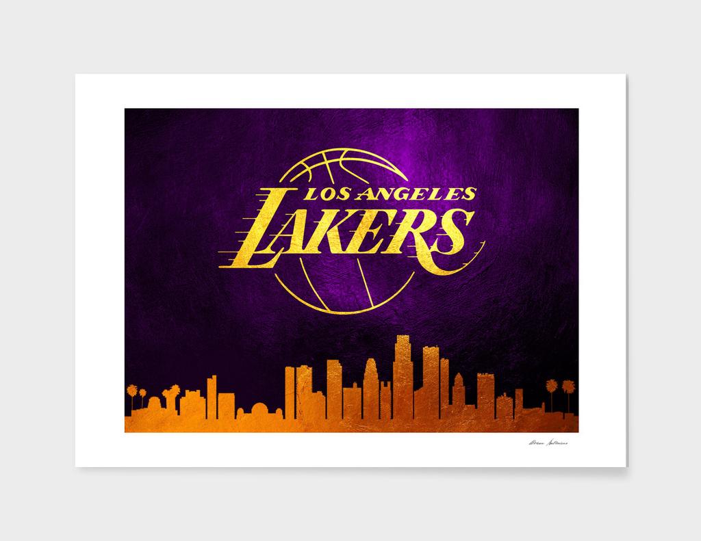 Los Angeles Lakers Skyline