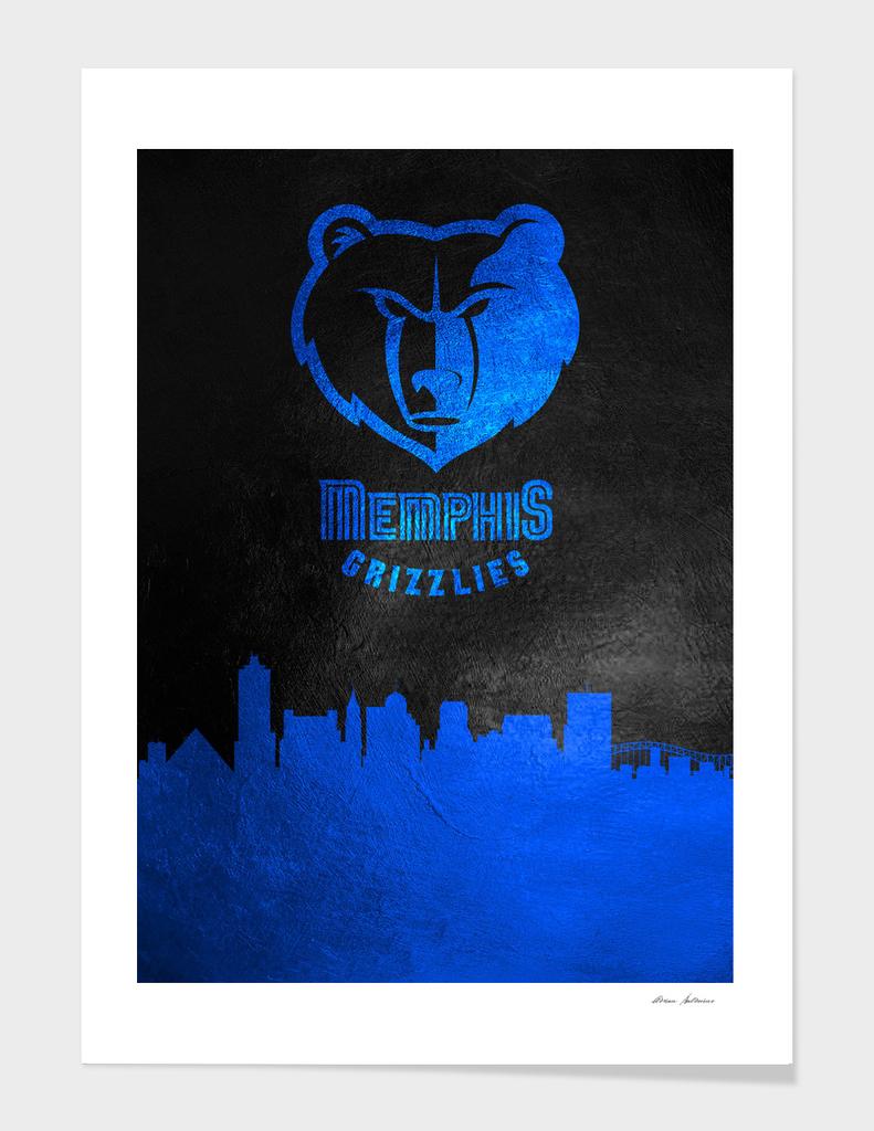 Memphis Grizzlies Skyline