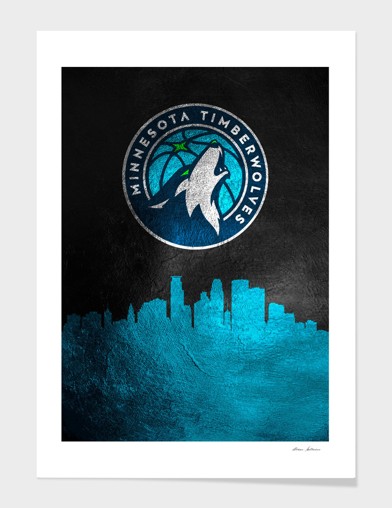 Minnesota Timberwolves Skyline