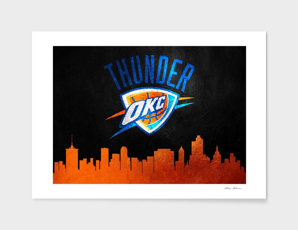 Oklahoma City Thunder Skyline