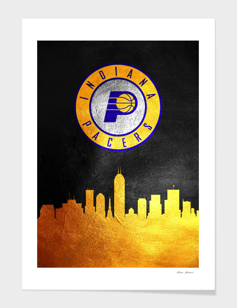 Indiana Pacers Skyline