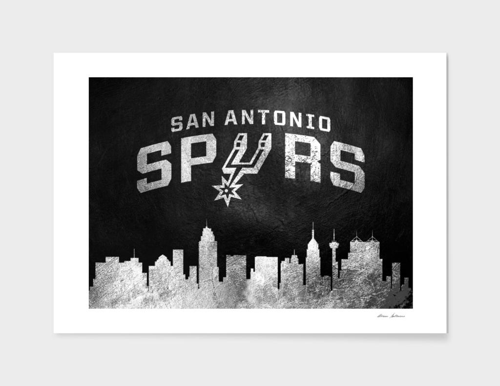 San Antonio Spurs Skyline