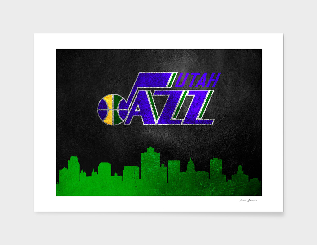 Utah Jazz Skyline