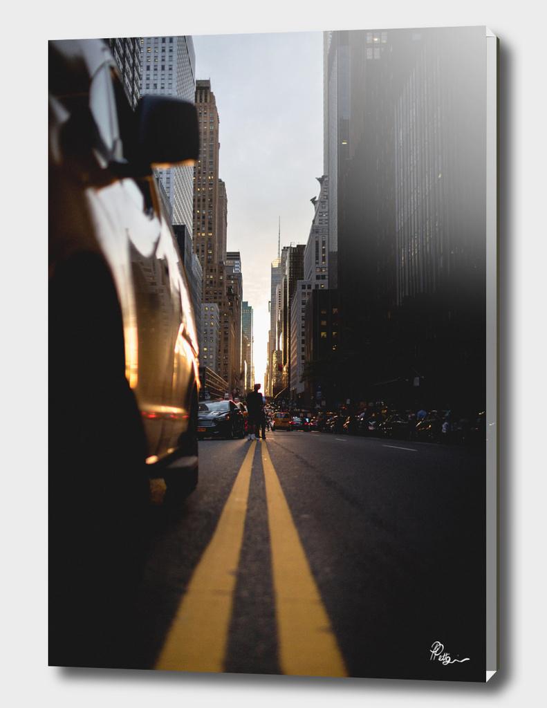 Manhattanhenge Sunset