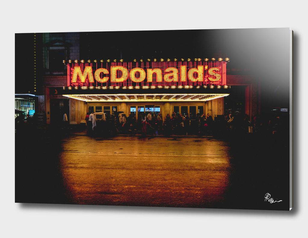Time Square / Mc Donald's