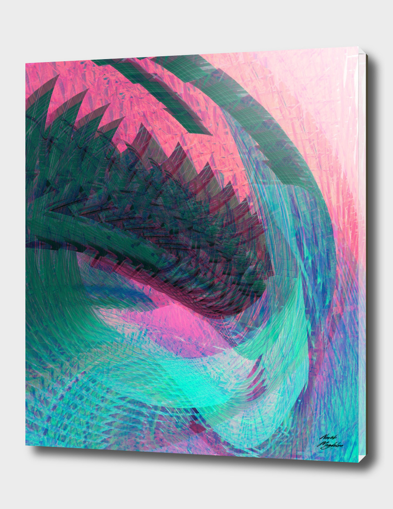 wormhole in pastel