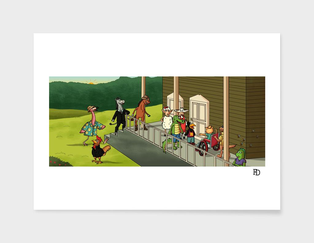 La Nueva Silla de Ruedas Illustration 15